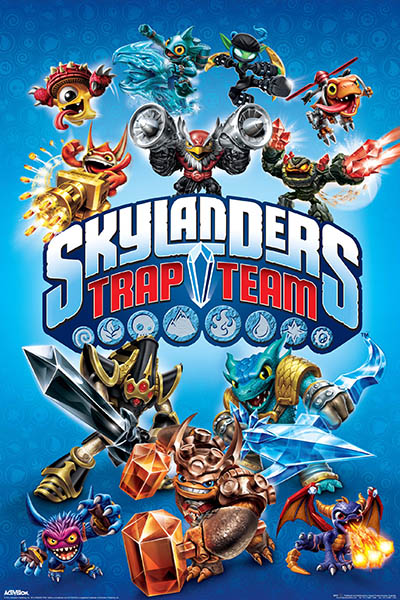 Skylanders Trap Team POSTER 61x91cm NEW * character ...