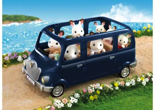 Sylvanian-Families-Bluebell-Seven-Seater-NEW-toy-car-miniature-model